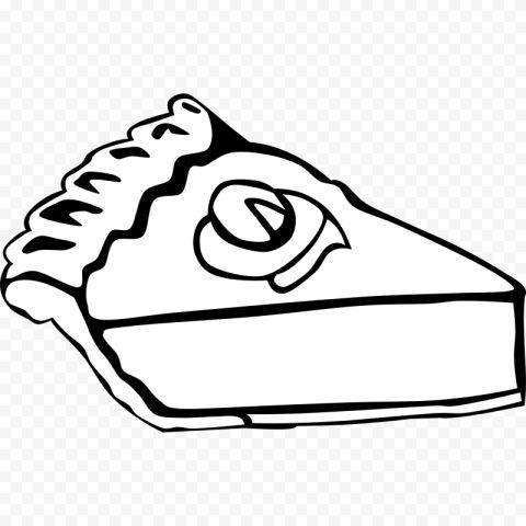 One Piece Of Pumpkin Pie Black White Clipart Clip Art Black And White Pumpkin Pie
