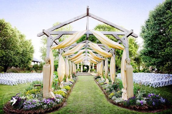 Gardens beautiful and wedding venues on pinterest for Beautiful places for a wedding
