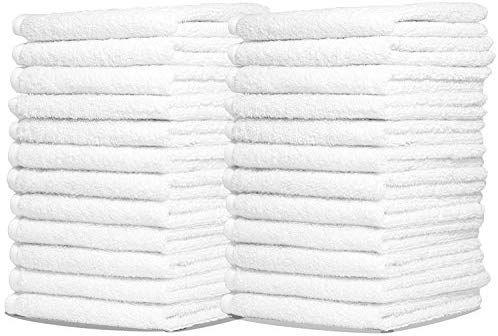 Amazon Com Royal Wash Cloth Kitchen Towels 24 Pack 100 Natural