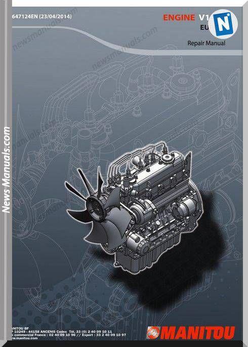 Kubota V1505 Engine Repair Manual Engine Repair Repair Manuals Engineering