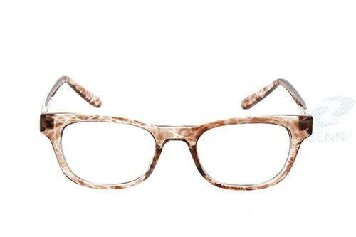 Brown Plastic Full-Rim Frame #2861 | Zenni Optical Eyeglasses