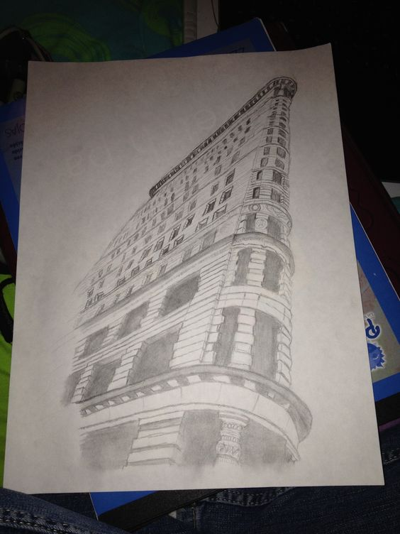 Flat Iron Building Sketch