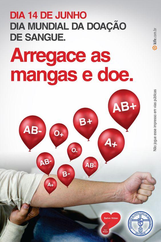 Menos de 2% dos brasileiros doam sangue.