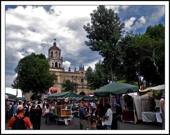 Plaza Coyoacan, Cd de Mexico