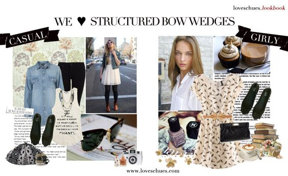 Structured bow wedges