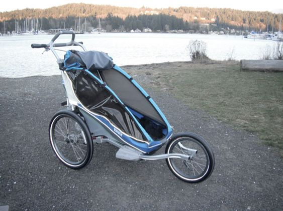Really. bike trailer for adults that can