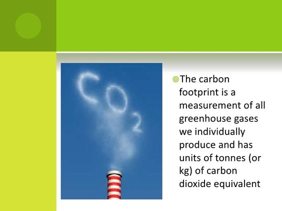 The carbon footprint is a measurement of all greenhouse gases we individually produce and has units of tonnes (or kg) of c...