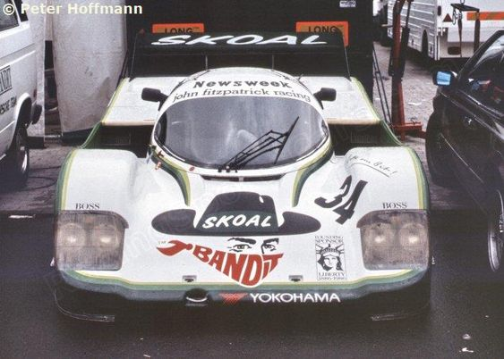 RSC Photo Gallery - Nürburgring 1000 Kilometres 1984 - Porsche 956 no.34 - Racing Sports Cars