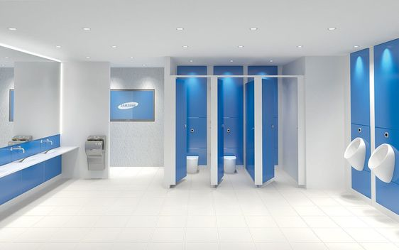 Eclipse is our glass toilet cubicle range, they are the most luxurious and opulent of all toilet cubicle ranges. Used in high end executive, first class and