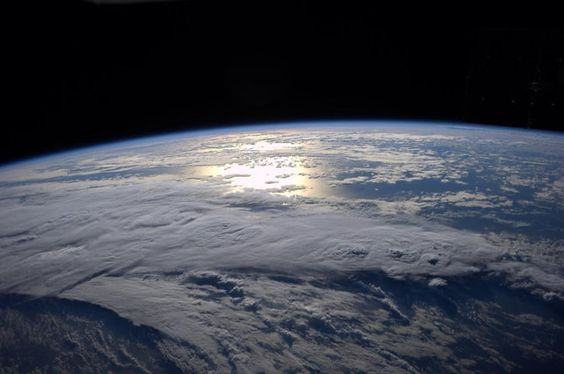 sunrise seen from International Space Station, Reid Wiseman