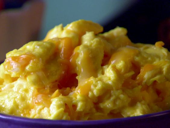 Sunny's Perfect Scrambled Cheesy Eggs from FoodNetwork.com (Sunny Anderson)