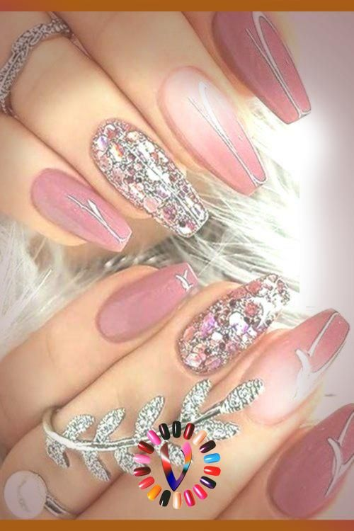 2019 Berr Pink Nail Arts Ideas And Designs For Cutest Hands In 2020 Pink Nail Art Pink Nails Nail Arts