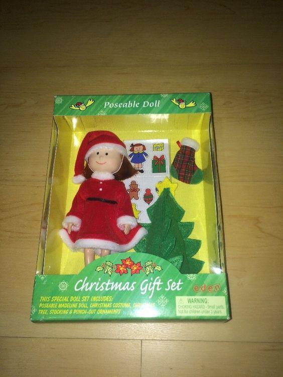 Madeline 8 inch Poseable Doll Christmas Gift Set 1999   eBay