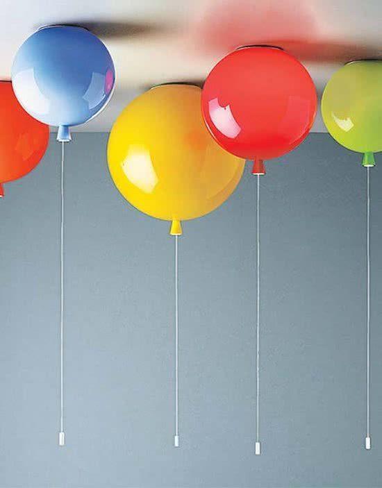 Ballonlamp Plafond 30cm Oranje In 2020 Plafondverlichting Ballon Lichtjes En Lampen Plafond
