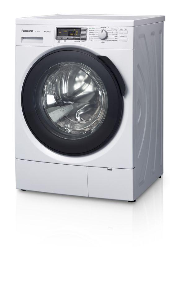 Viele Argumente sprechen für eine Panasonic Waschmaschine: Leistung, Sparsamkeit... aber vor allem die Dampffunktion, mit der man sich das Bügeln spart! #Waesche #Haushalt