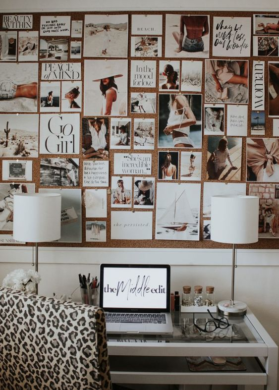 5 Tips For Creating A Vision Board For Your Dorm Room
