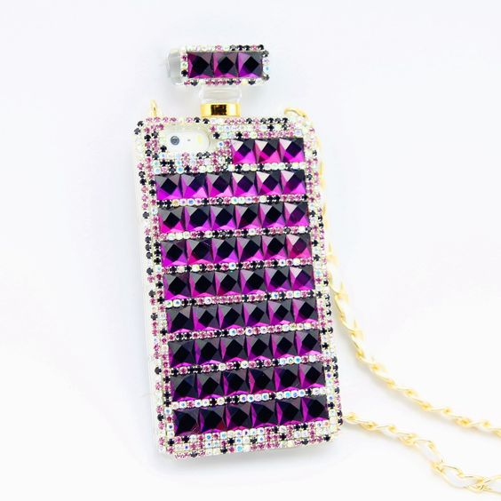 Kira #Superstar #Perfume Style #iPhone 5/5s #Case- #Purple