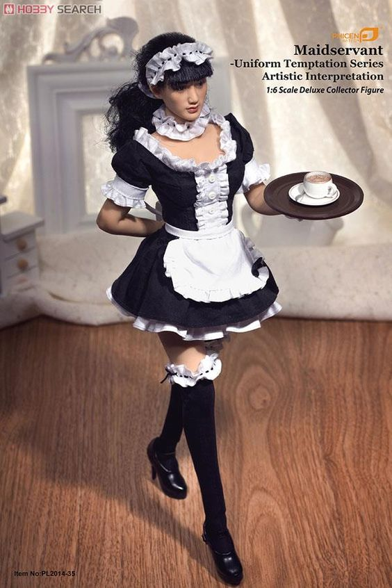 [close] Phicen Limited 1/6 Uniform Temptation Series Maid (Fashion Doll) Item picture2