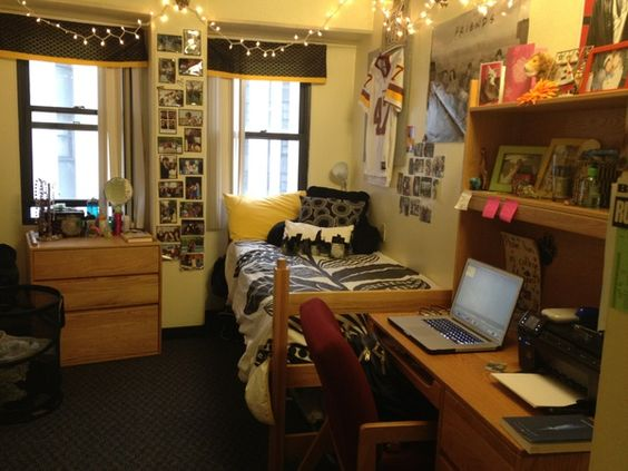Dorm, Dorm room and Colleges on Pinterest