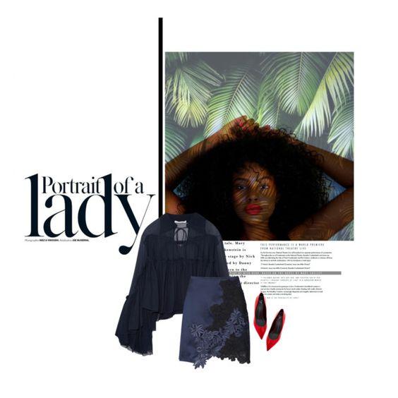What you think you become by marleena on Polyvore featuring polyvore fashion style Chloé 3.1 Phillip Lim Giuseppe Zanotti Inez & Vinoodh GiuseppeZanotti chloe PhilipLim