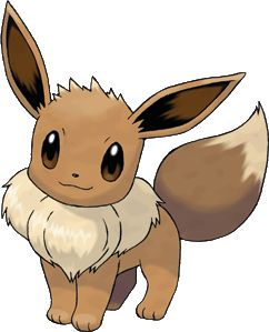 I love Eevee, one of my favourite Pokemon.