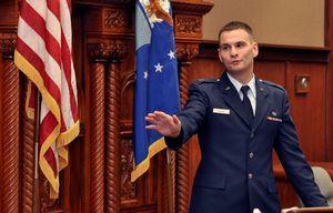 Airmen get inside look at military judicial system
