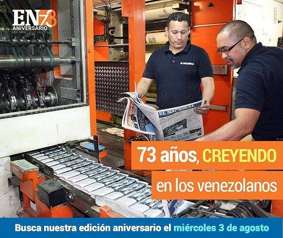 Somos #GentequediceSI a Venezuela, porque al igual que tú seguimos creyendo en ella. Busca nuestra edición aniversario este 3 de agosto en tu kiosko de preferencia