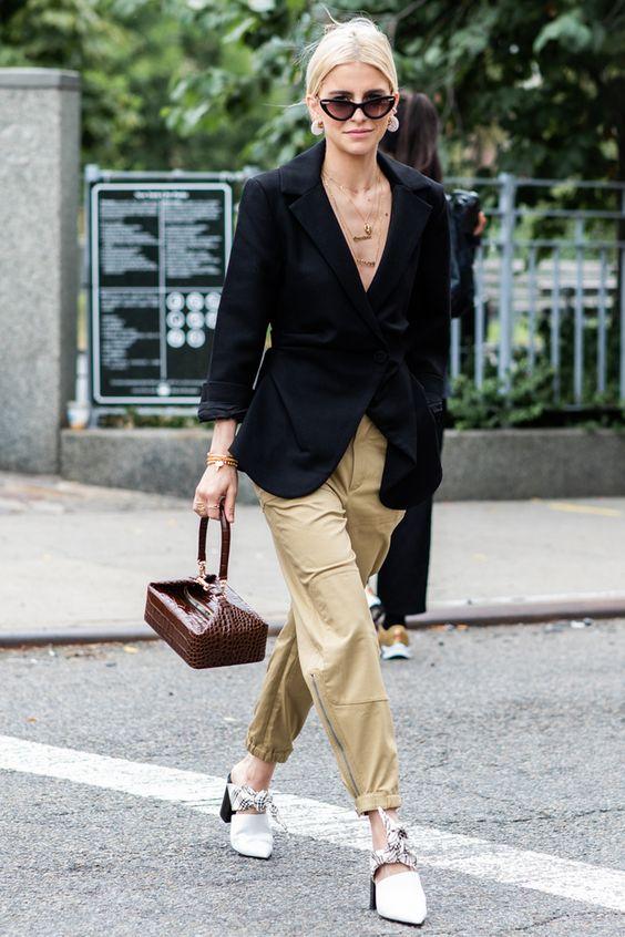 Street style à la Fashion Week printemps-été 2019 de New York ss19 57