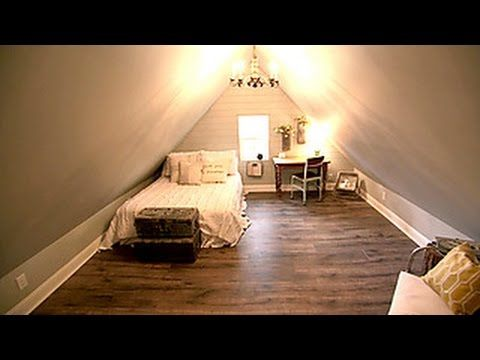 Fixer upper attic bedroom design hgtv shows experts for Fixer upper bedroom designs