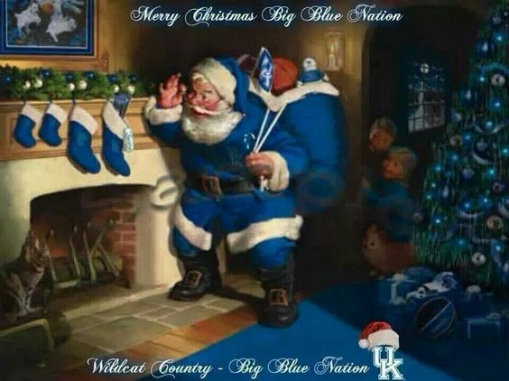 Merry Christmas Big Blue Nation!