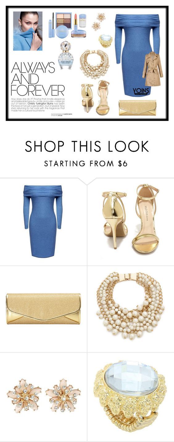 """""""Yoins Dress"""" by annamatrix ❤ liked on Polyvore featuring Wild Diva, J. Furmani, Kate Spade, women's clothing, women, female, woman, misses, juniors and yoinsearrings"""