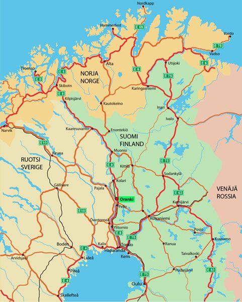 Lappi Kartta Map Info Map Screenshot