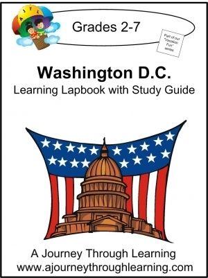 Washington D.C. Lapbook - A Journey Through Learning |  | History LapbooksCurrClick