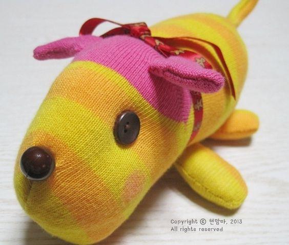 Muñeco de calcetín