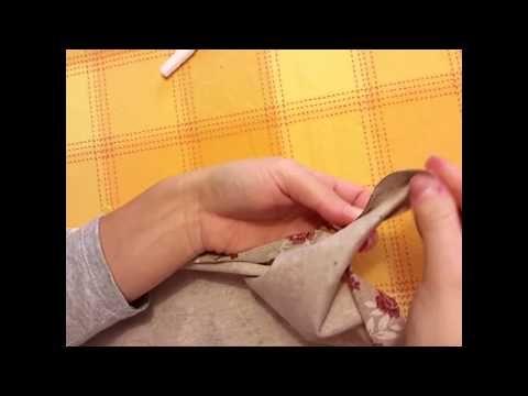 ▶ Orlo tovaglia con angolo a cappuccio - YouTube