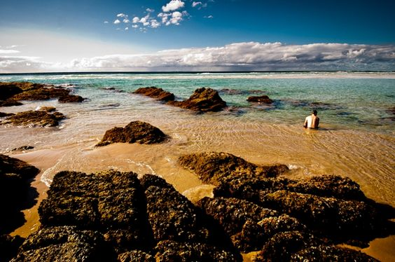 Deadman's Beach on North Stradbroke Island, Queensland, Australia #travel #photography