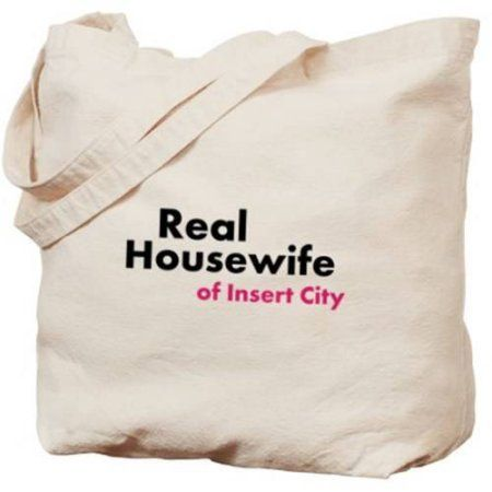 Cafepress Personalized Real Housewife Of ... Tote Bag, Women's, Multicolor