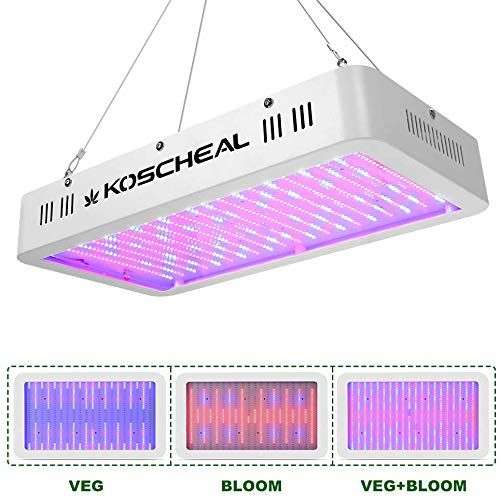 Best Seller 2000w Led Grow Light Full Spectrum Plant Grow Light Veg Bloom Switch Hydroponic Indoor Plants Koscheal Led Grow Lamp Daisy Chain Online Findt In 2020 Grow Lights For