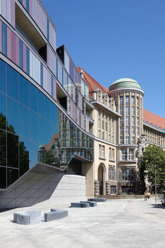 Deutsche Nationalbibliothek   Leipzig, Germany   Gabriele Glöckler Architektin and zsp architekten