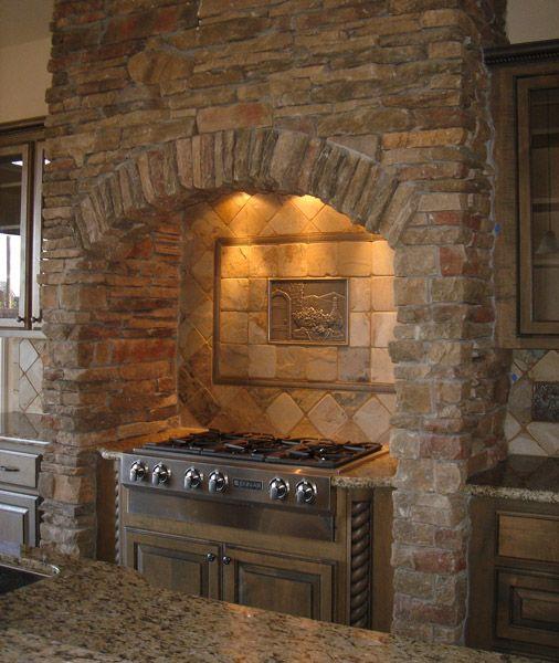 Kitchen Decor Kitchen Designs Kitchen Decorating Ideas Stone Kitchen Cooktop Surround