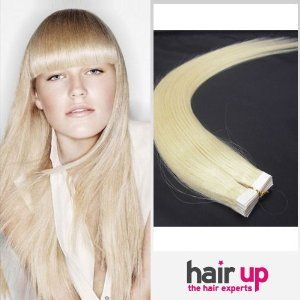 """22"""" Inch 20 pcs Tape In Premium Remy Human Hair Extensions White Blonde_60 _20 Pieces Set_60g Weight Full Head Straight by Hairup. $96.95. Color:#60Length:22 Inch. Qty:1 Full Head Set. Weight:60gWe kindly remind you that the order status online will be trackable in the next 72 hours due to package dispatch. Normally it takes about 10-15 business days for standard delivery and 3-5 days for expedited delivery.. Texture:Straight Remy Human HairPO BOX shipping address undelivera..."""