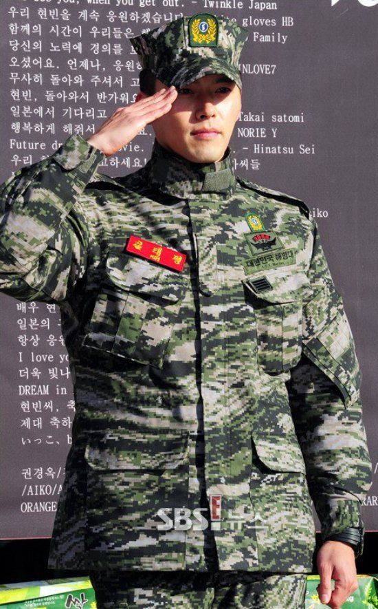 Hyun Bin Returns From Military Service Dramabeans Korean Drama Recaps In 2021 Hyun Bin Korean Drama Korean Actors