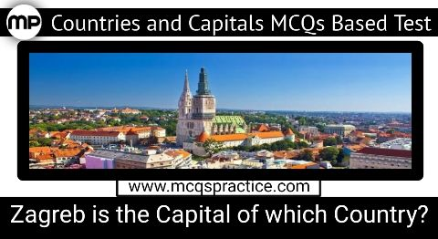 Zagreb Is The Capital Of Which Country What Is The Capital Of Croatia In 2020 Country Capitals Zagreb