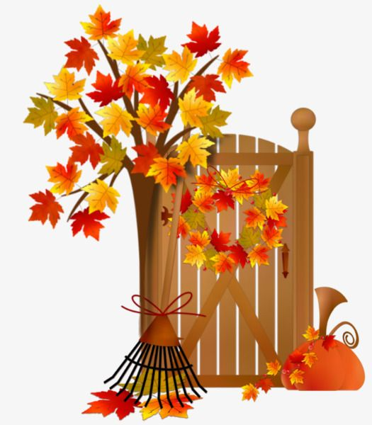 Autumn Scenery | Fall clip art, Autumn stickers, Fall crafts
