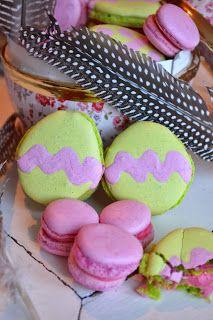 St Heaven Street: Hur man gör tvåfärgade macarons och en väldans massa tips!!