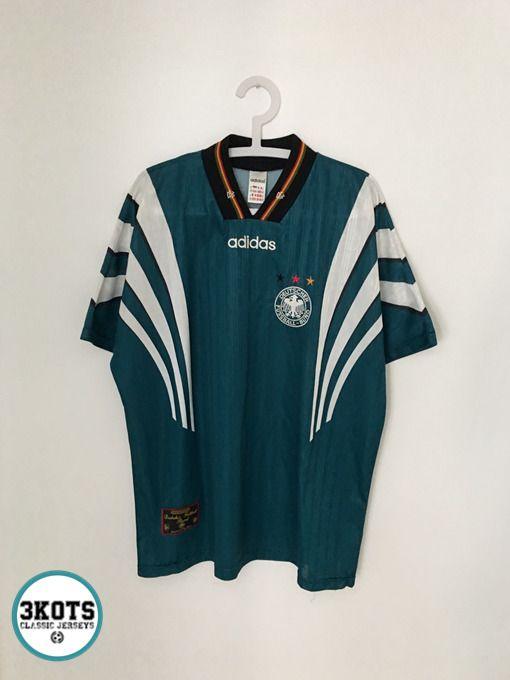 GERMANY 199698 Away Football Shirt XL Soccer Jersey ADIDAS
