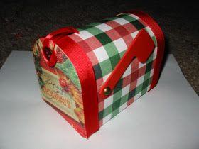 Scrapcation Getaway: Letters to Santa Mailbox