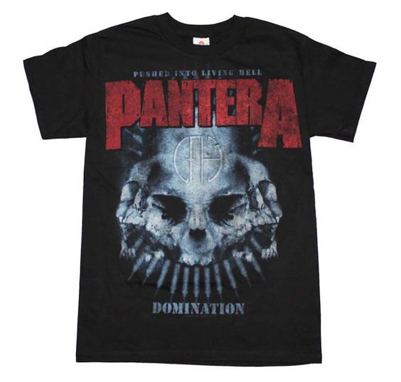 Pantera Domination Distressed Print Officially by DeeGeesEmporium