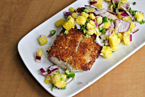 Mahi mahi, Mahi mahi recipe and Coconut on Pinterest