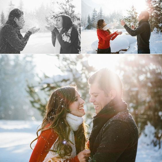 engagement session photoshoot save the date snow winter photographe mariage annecy geneve chamonix - Photographe Mariage Chamonix